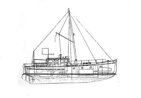 Lightweight motoryachts arielle marin marco polo for William garden sailboat designs